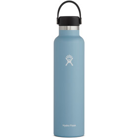 Hydro Flask Standard Mouth Drinkfles met standaard Flex Cap 709ml, rain